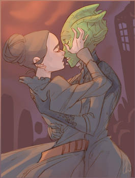 Let Vastra kiss her wife