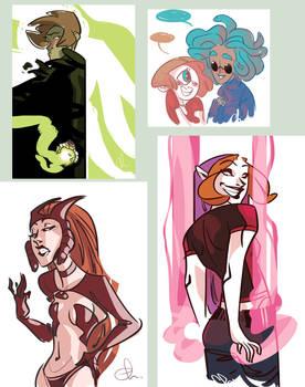 Webcomic characters1