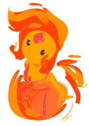 Flame Princess by chlove-art
