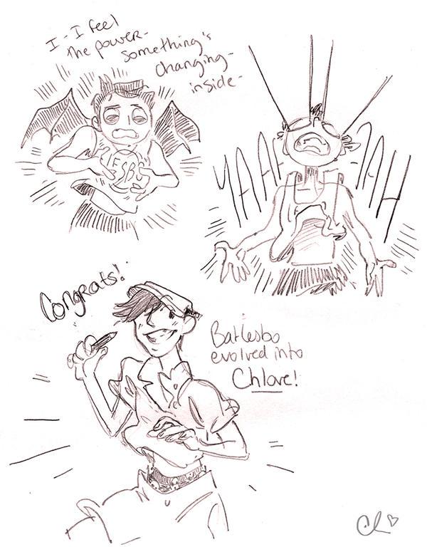 batlesbo evolves into chlove! by chlove-art