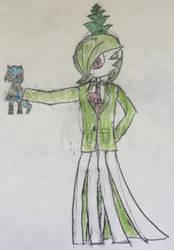 Me Again (Gardevoir form - Wearing Suit)