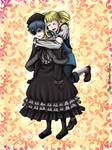 ::COMM:: Ciel x Lizzy by The-WinterRose