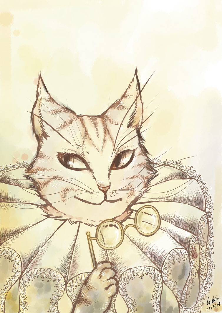 Reinassance Cat by Mosky-chan