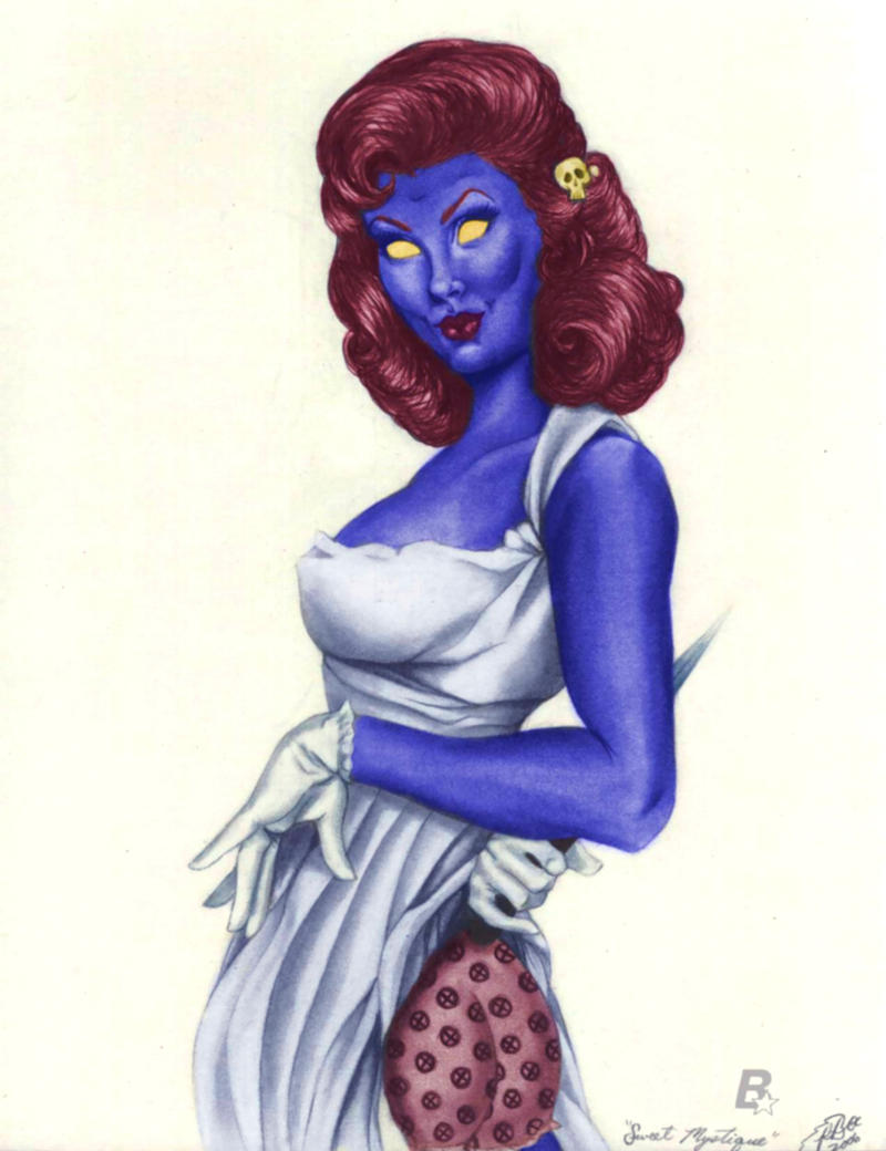 Mystique Vintage Pin-Up by