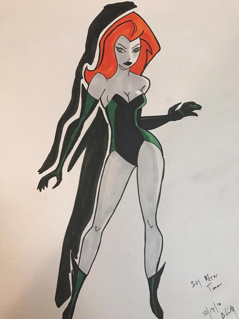Inktober Ivy by MrLively