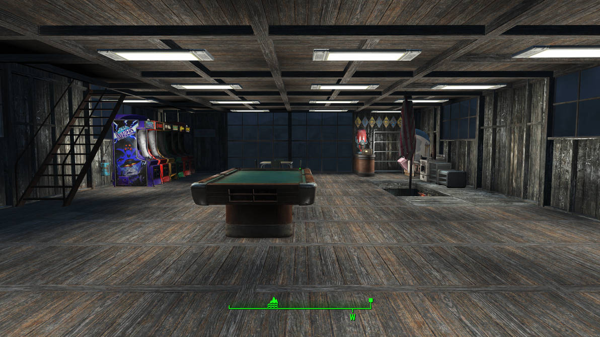 ghostbusters in Fallout 4 - 2nd Floor Common Room by MrLively