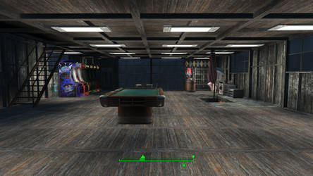 ghostbusters in Fallout 4 - 2nd Floor Common Room