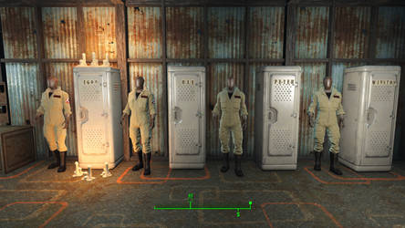 Ghostbusters in Fallout 4 - Lockers by MrLively
