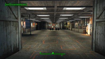 Ghostbusters in Fallout 4 Entry Way by MrLively