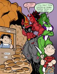 It's the Great Pumpkin (Pie Sale), Charlie Brown