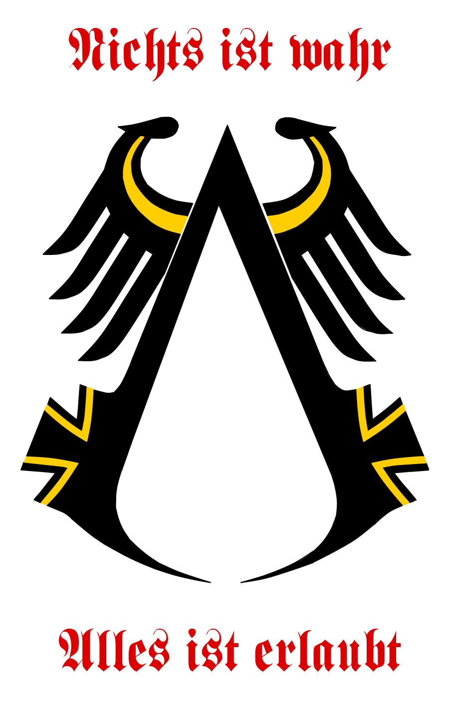 Assassin's Creed German Emblem by VulcanTrekkie45