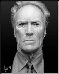 Clint Eastwood by BikerScout