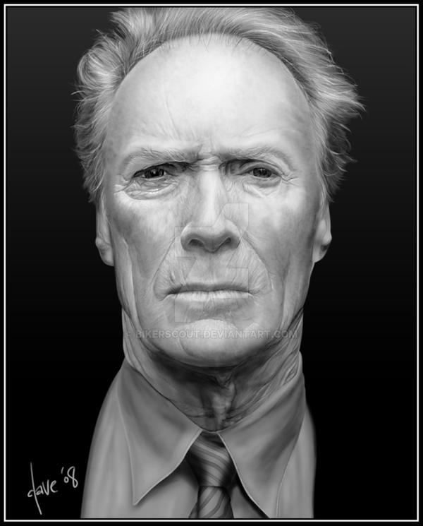 Clint Eastwood by BikerScout