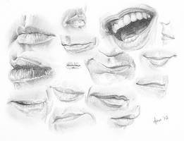 Mouth Studies II by BikerScout