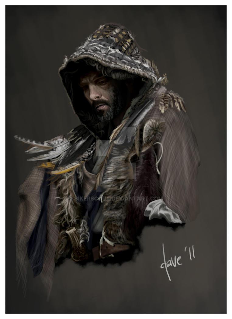 'Hawk' poster - Adult Rowan by BikerScout