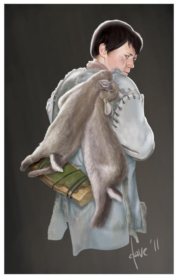 'Hawk' poster - Young Rowan by BikerScout