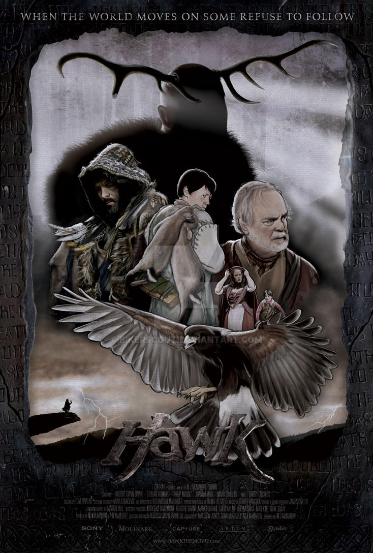 'Hawk' poster by BikerScout