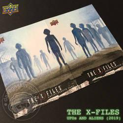 Upper Deck X FILES Aliens by BikerScout