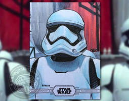 Topps Chrome Legacy: First Order trooper
