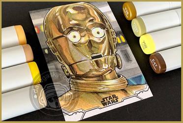 Topps Holocron - C-3PO