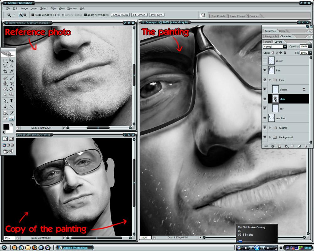 :: Desktop - Bono Progress :: by BikerScout