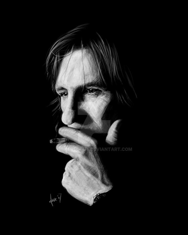 Depardieu speedpaint by BikerScout