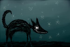 Wolf At the Door by Eva-NiceCat