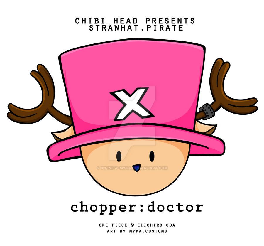 Chibi Head: Tony Tony Chopper by infinity-myka on DeviantArt