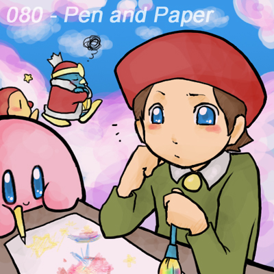 080 - Pen and Paper by Mikoto-chan