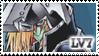 YGO-Stamp Silent Swordsman LV7 by Mikoto-Tsuki