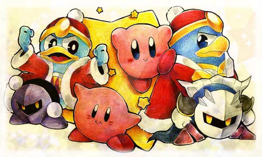 KBY-Kirby's 20th Anniversary by Mikoto-chan