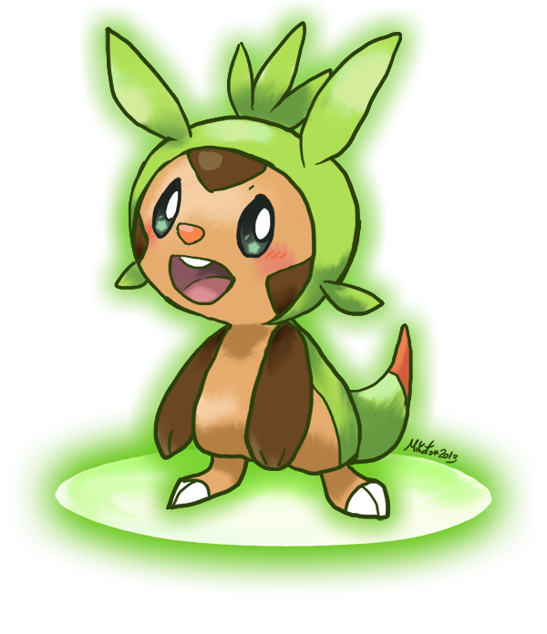 PKMN-Chespin by Mikoto-chan
