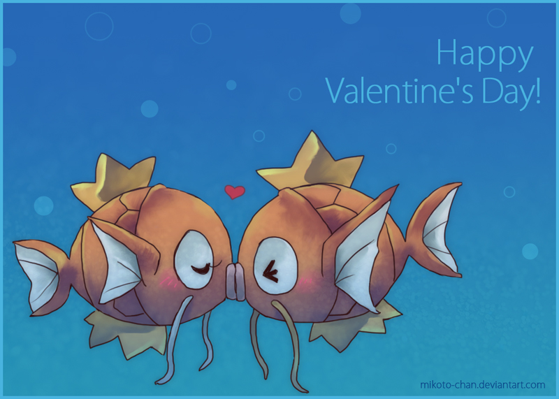 PKMN-Happy Valentine's Day by Mikoto-chan