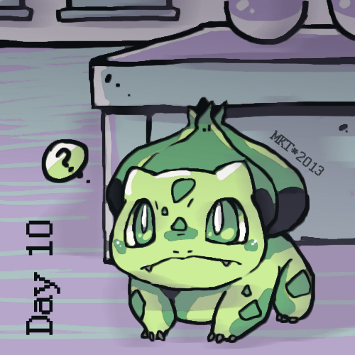 Day 10 - Favorite Grass Type by Mikoto-chan