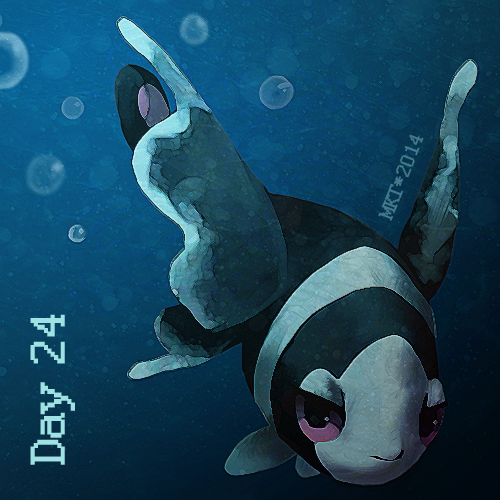 Day 24 - Favorite Pokemon Design by Mikoto-chan
