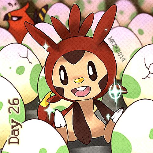 Day 26 - Favorite Starter by Mikoto-Tsuki