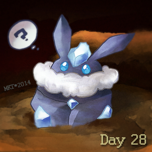 Day 28 - Cutest Pokemon by Mikoto-chan