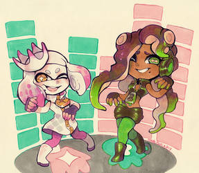 Splatoon - Off the Hook by Mikoto-Tsuki