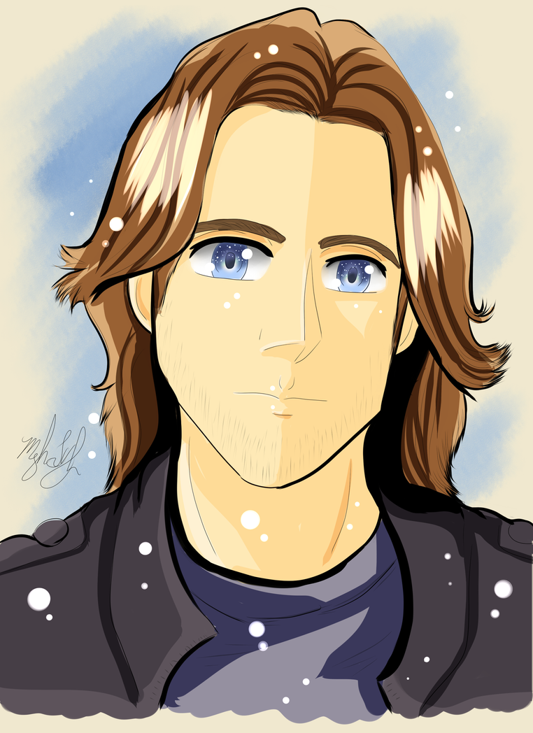 Beautiful Matthew Mercer Fanart Portrait 2016-2017 by MeghansDreamDesigns