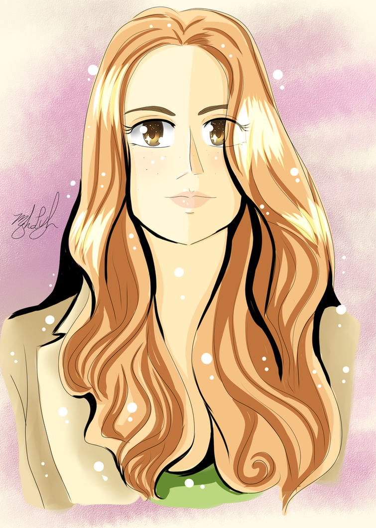 Beautiful Marisha Ray Fanart Portrait 2017 by MeghansDreamDesigns