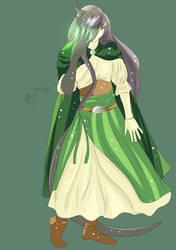 Meet Calianna The Half Elf Sorcerer CR 2018 by MeghansDreamDesigns