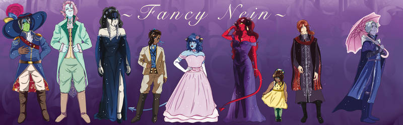 My Version of Fancy Nein from CR 2020