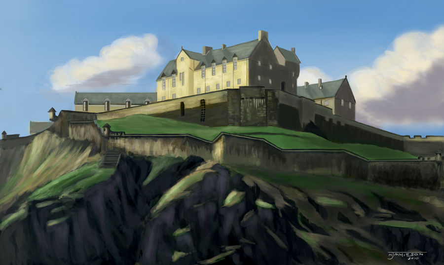 Edinburgh Castle by mjamieson