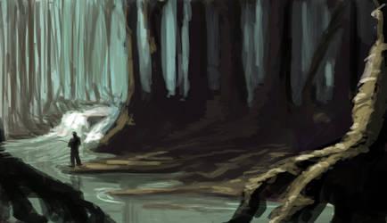 Swamp fishing by mjamieson