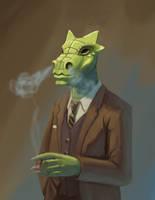 Business Dragon by mjamieson