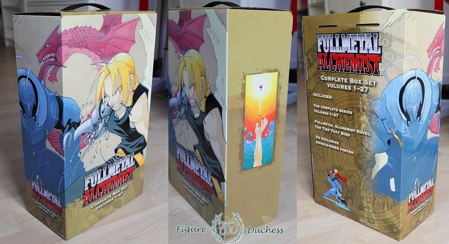 record review fullmetal alchemist manga box the figure duchess i watched fullmetal alchemist and i loved it i watched fullmetal alchemist brotherhood and loved it even more so it was only a matter of time that i had