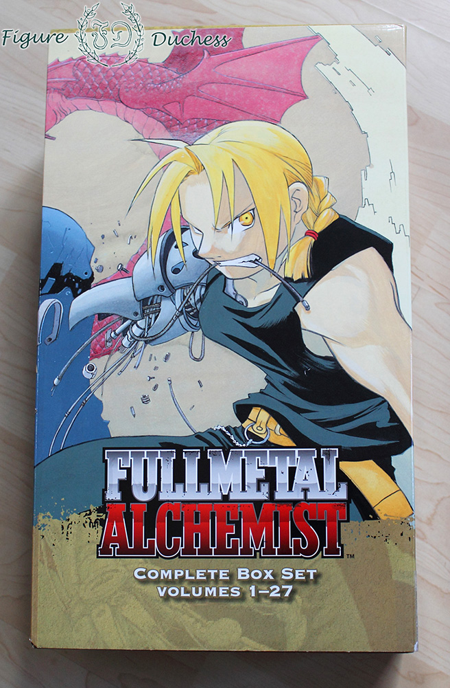 Record & Review: Fullmetal Alchemist Manga Box   The ...