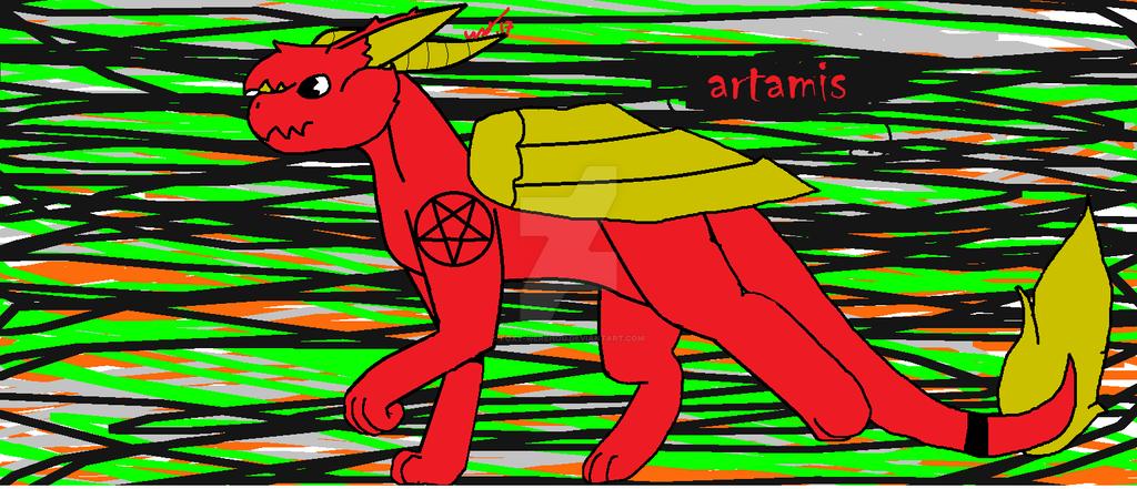 Artamis by Foxy-Werehog