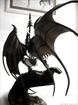 Figure - Black Tinkerbell 1