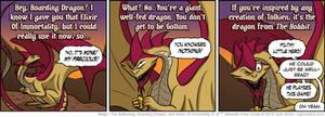 Hoarding Dragon Comic